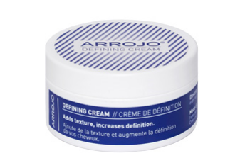 defining cream   Adds texture, increases definition.  With light to medium hold, Defining Cream is the perfect product for women and men who like to add soft control, matte definition, body and texture to their look. Flake free and supple, not stiff, it's great for anyone that wants to put visible sharpness into their style.   Directions: Emulsify in palms. Work through damp or dry hair. Create your favorite shapes and styles.