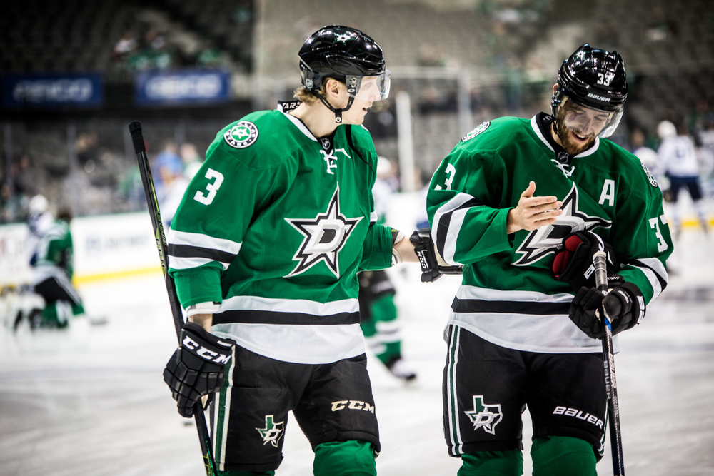 John Klingberg and Alex Goligoski