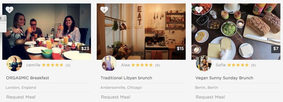 Orgasmic breakfast, Libyan brunch and vegan sunny Sunday, I wanna try them all!!