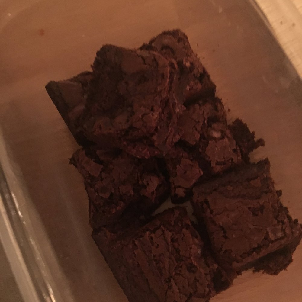 Regular brownies.