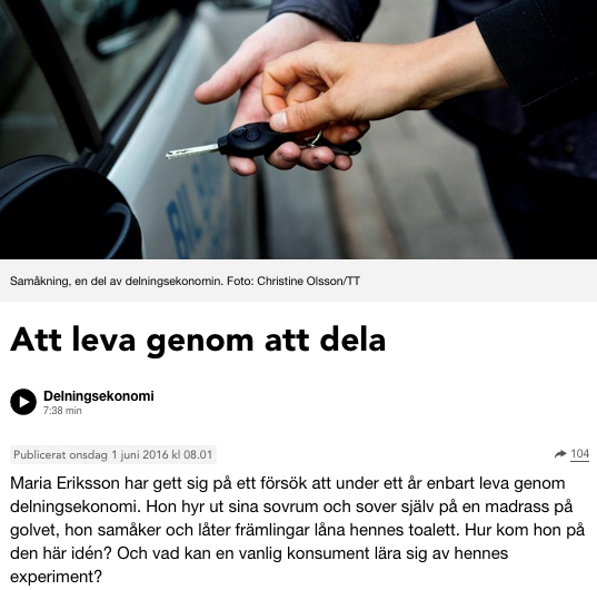 Sveriges Radio: Plånboken