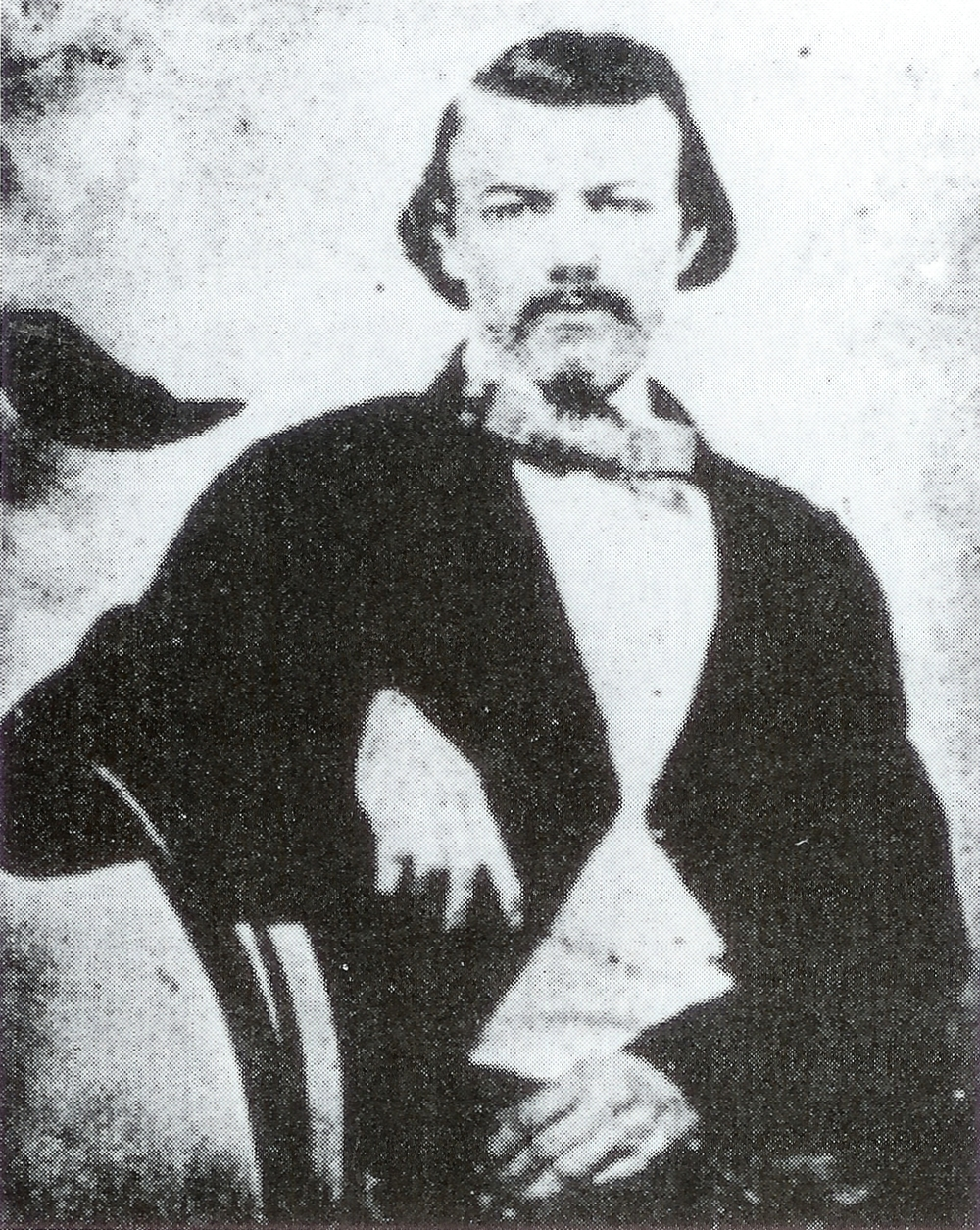 Colonel William Shy, killed at the Battle of Nashville, Dec. 16, 1864.
