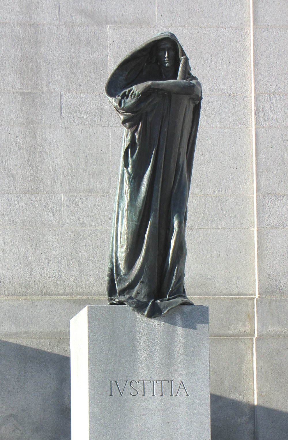 'Justice' by Walter Seymour Allward, the Supreme Court of Canada, Ottawa, Ontario