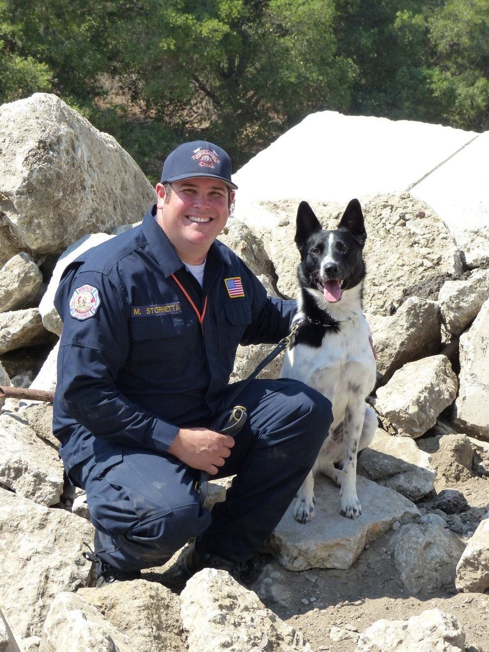 SDF Mike Stornetta and Rocket.jpg