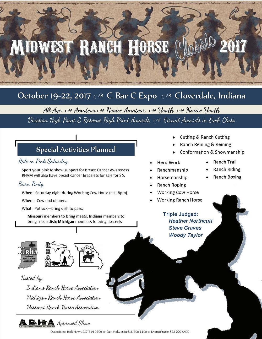 Midwest Ranch Horse Classic Flyer