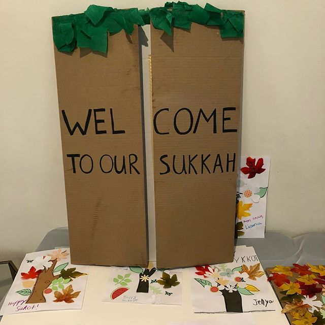 #tbt to our Family Sukkot Celebration