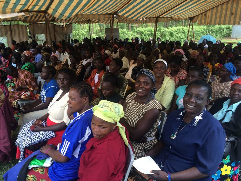 Women's Business Conference shows overwhelming attendance in Kiliminni, Kenya. Conference room overflowed, so Pastor Samuel rented a tent. We are thankful to touch so many lives, all glory goes to God.