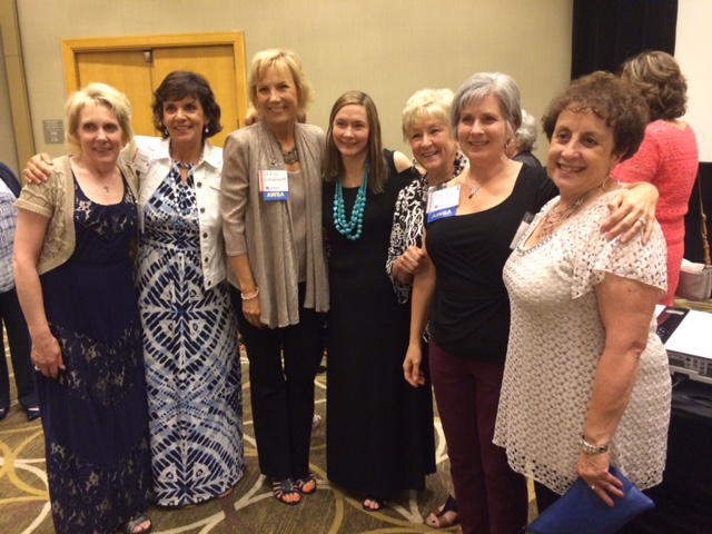 AWSA Tuesday morning Mastermind group meets in person at the AWSA conference in Cincinnati, OH. AWSA Mastermind is a bi-monthly zoom meeting -- group mentoring at its finest.