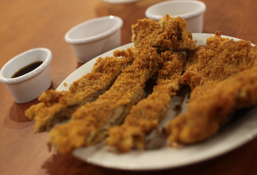 Fried crispy chicken filet is a one of the popular Taiwanese food that will be featured in the festival.