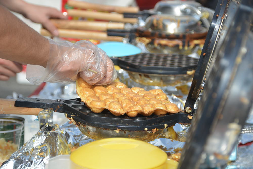 Egg Waffles featured in the Lunar New Year Festival