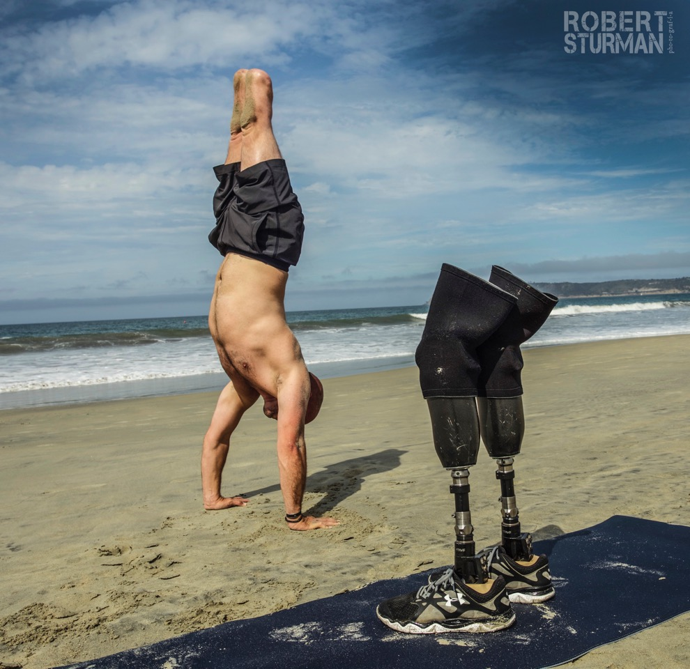 Staff Sergeant Dan Nevins  - U.S. Army Operation Iraqi freedom II. Veteran turned yoga teacher. Coronado, California.
