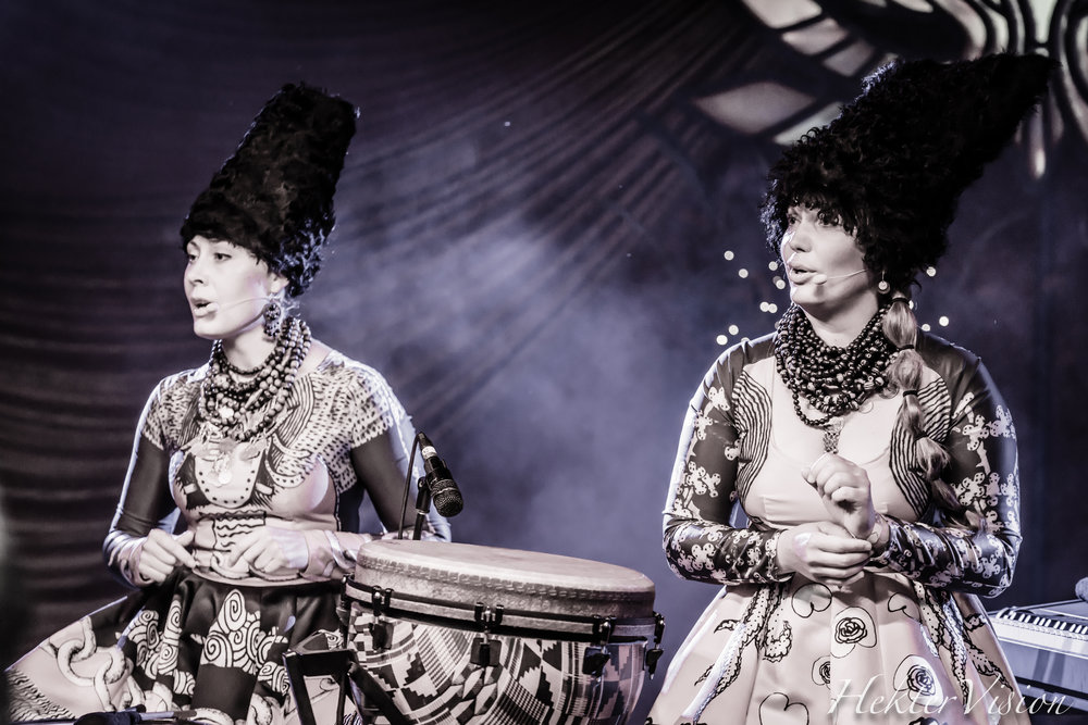 Dakhabrakha, from Ukraine, was one of many little-known delights presented throughout the weekend at Beloved