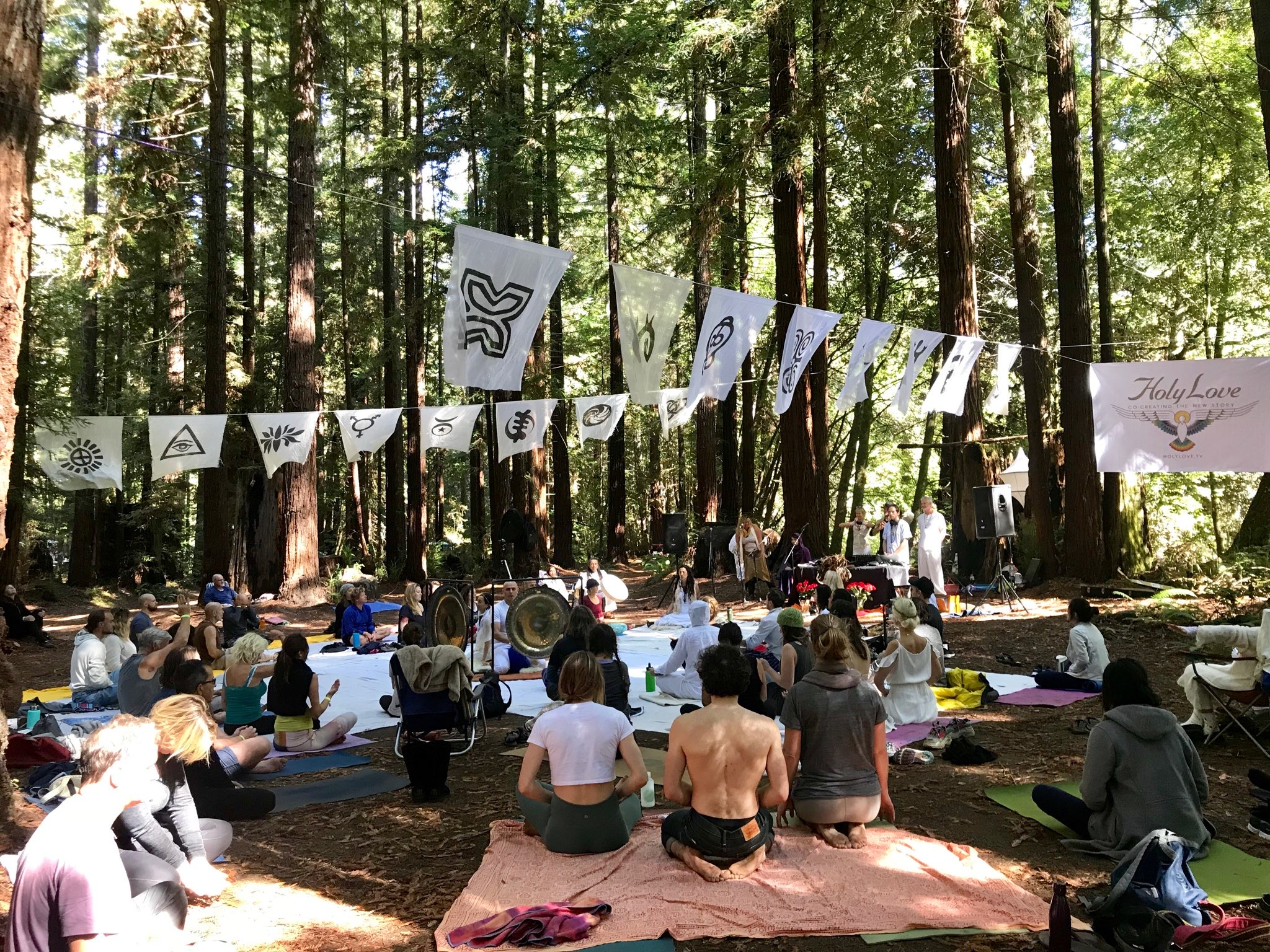Yoga, Music + Spirituality In The Redwoods: Why You Need To