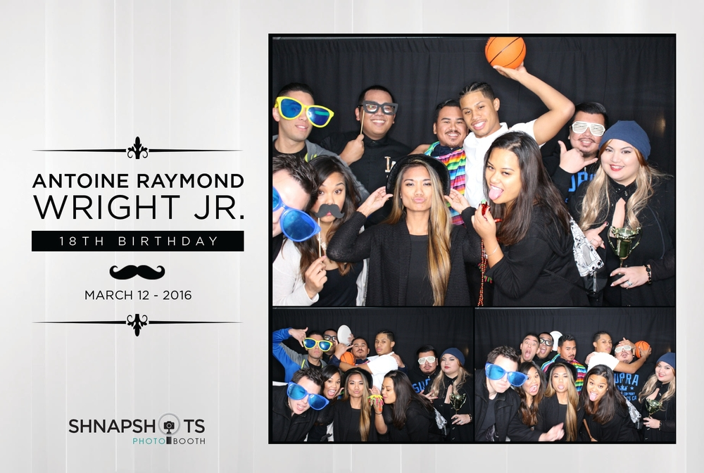 Antoine Raymond Wright Jr's 18th