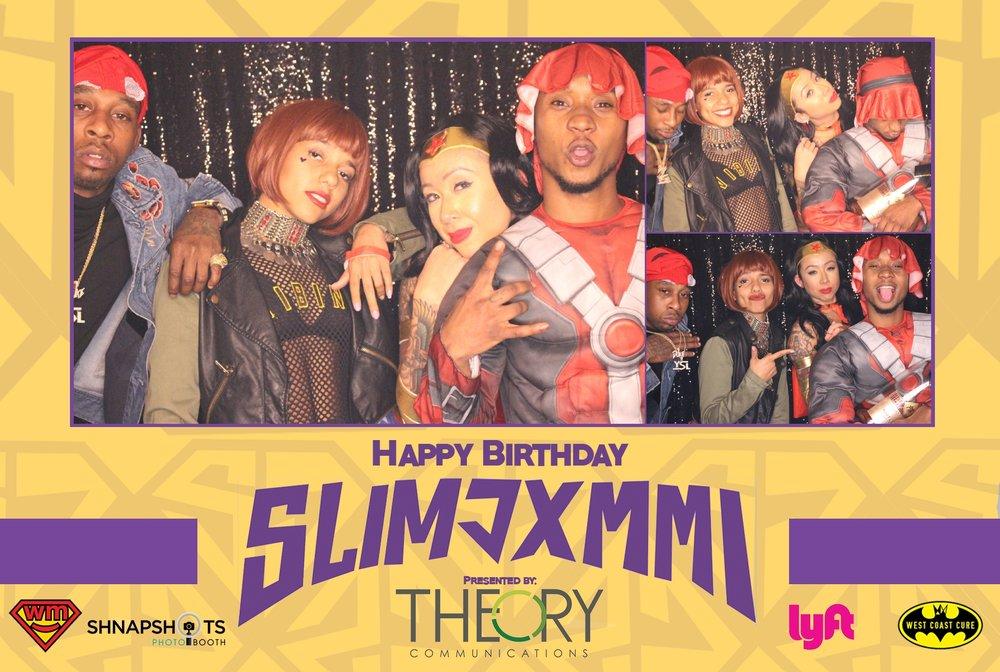 Slim Jxmmi's Birthday