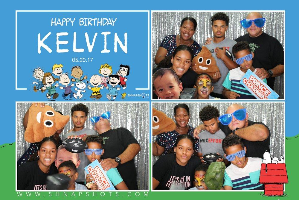 Kelvin's 1st Birthday