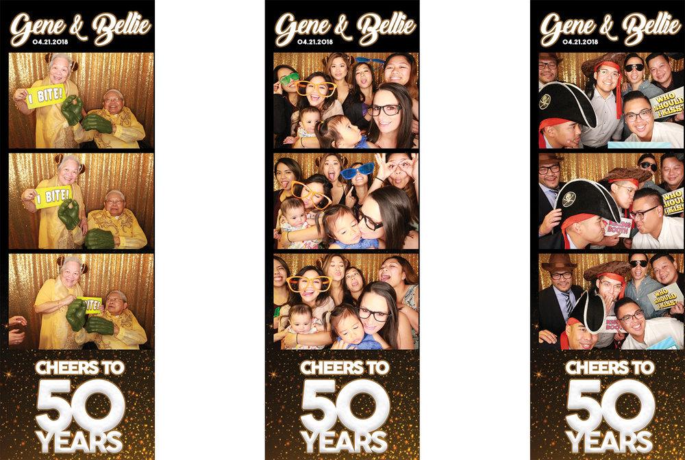 Gene & Bellie's 50th Anniversary