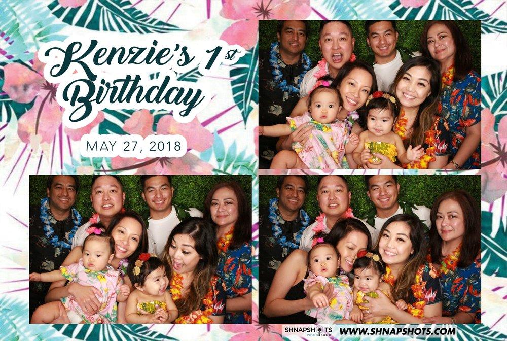 Kenzies First Birthday