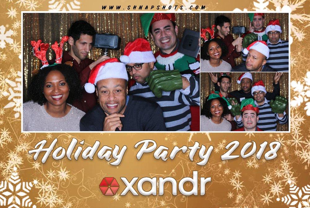 Xandr Holiday Party 2018