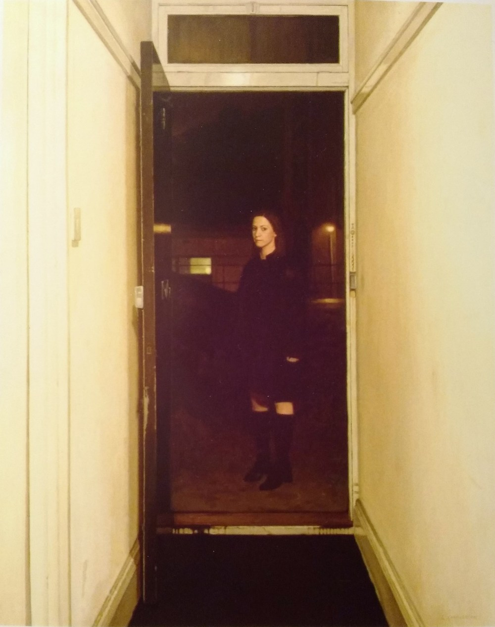 Figure in Dark Doorway