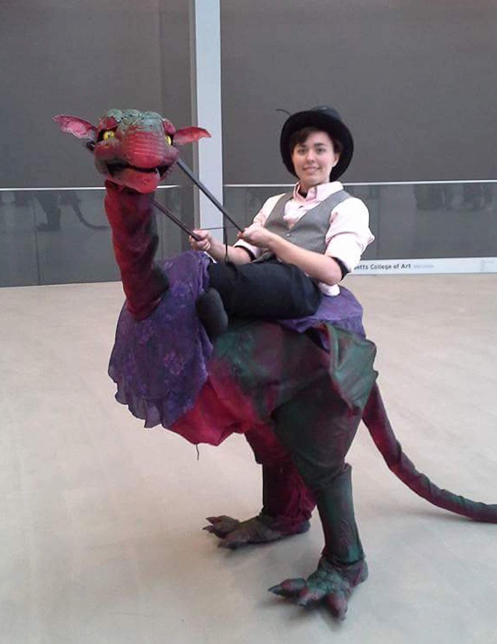 Dragon Rider Puppet