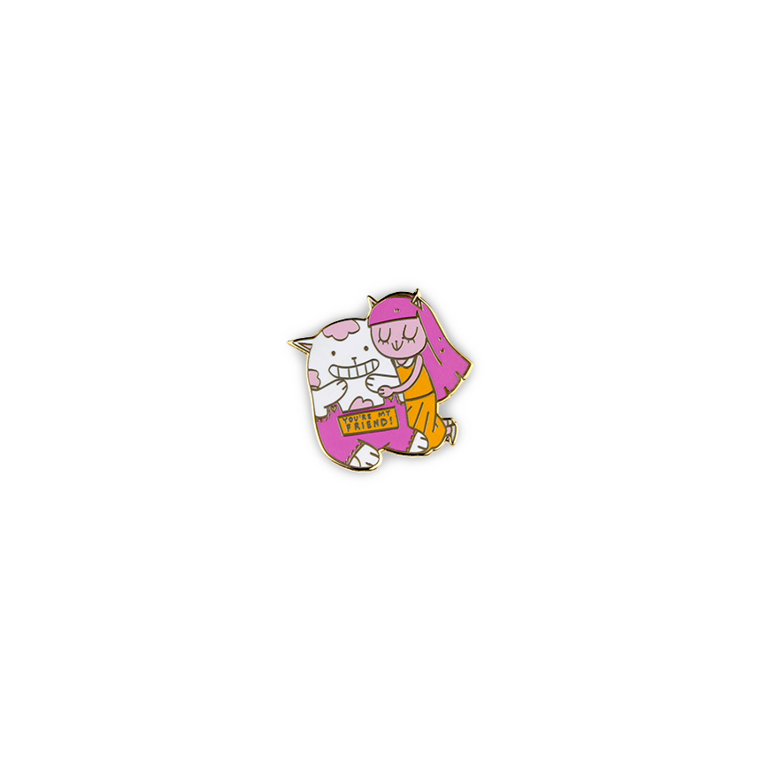 Get Lapel Pins-112-you're my friend.jpg