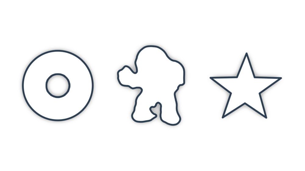 Examples of a few Custom Pin Shapes