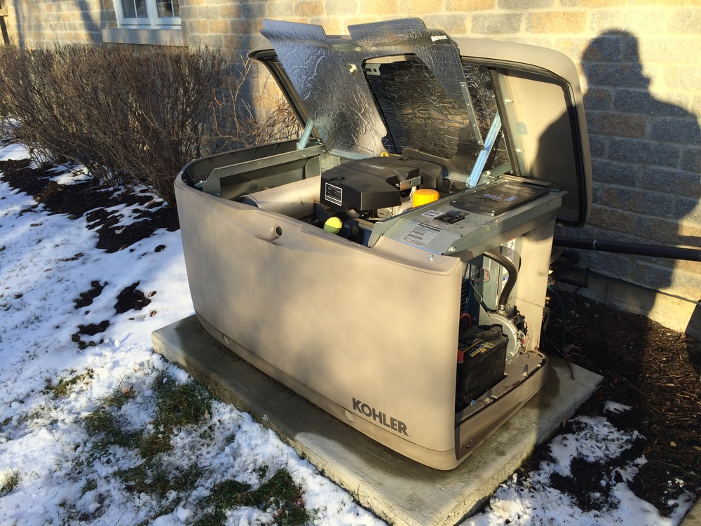 Kohler 20kW Generator Installation