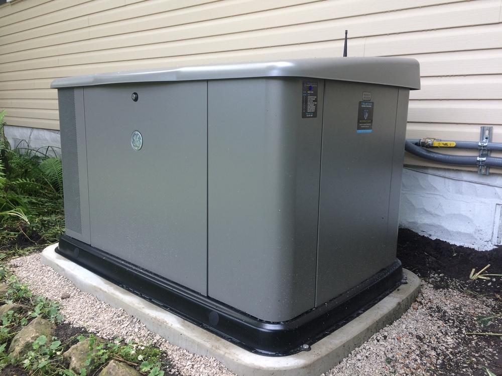 GE 20kW Generator Install