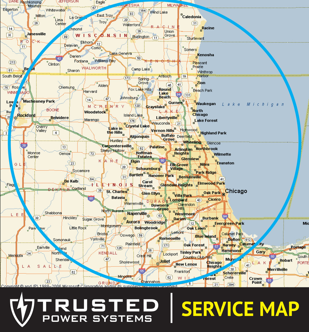 Trusted Power Systems Service Map
