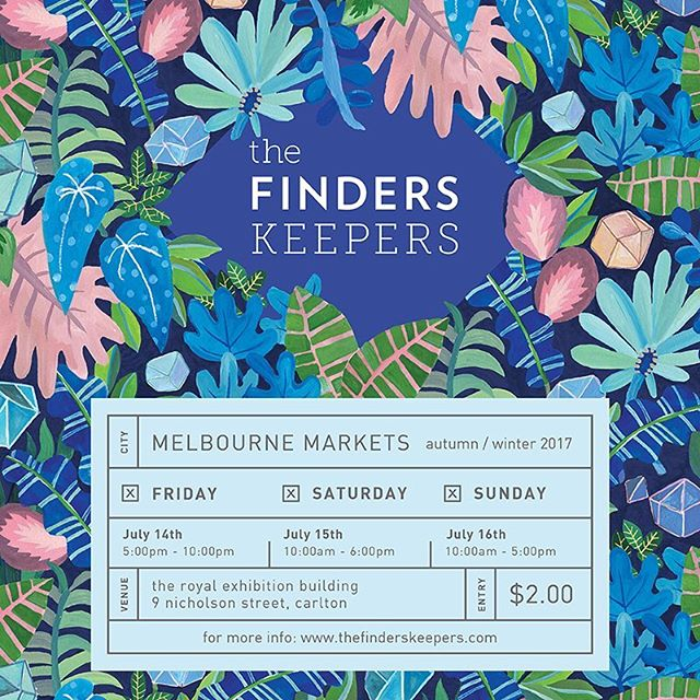 WE'RE BACK! Come and say hello this weekend at the @finders_keepers market - the lineup this year is amazing and we're (already) having a wonderful time. x