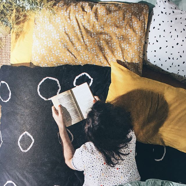Thrilled to have our little linen brand in this month's @frankiemagazine! Featured are our flat sheet and pillowcases in mustard. 😍#handmadeisbestmade