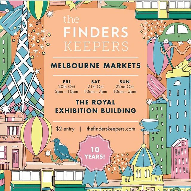 It's HAPPENING! From tomorrow arvo at 5pm we'll be back at the @finders_keepers markets and we can't wait. Grab a vino and swing by to say hello 👋🏻