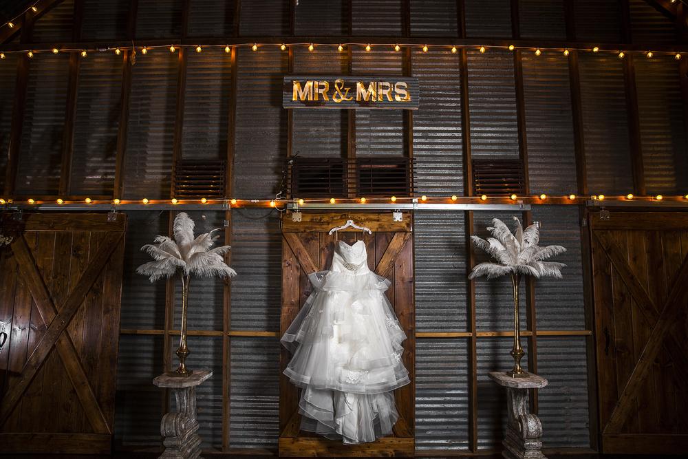 Walnut Tree Weddings, Olton, Wedding Dress, Barn Door, Rustic, MR AND MRS