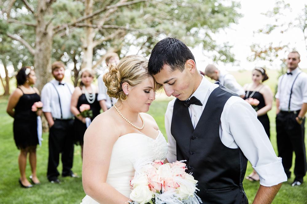 Bridal Party, Walnut Tree Weddings, Fall Weddings