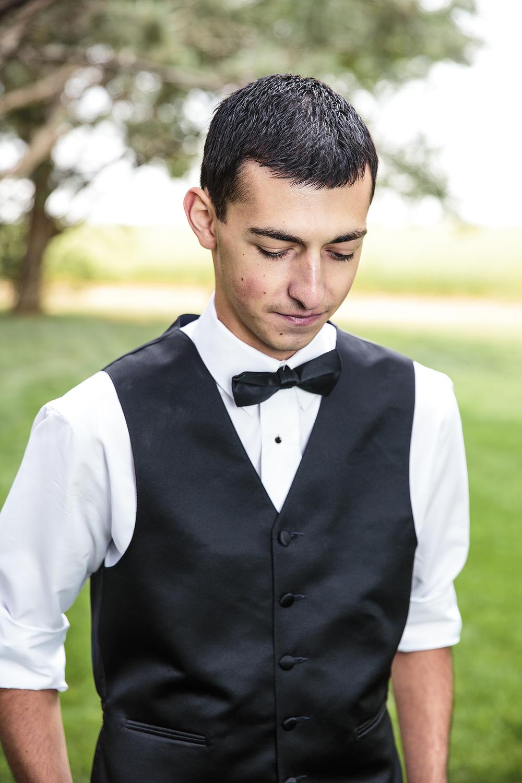 Groom portrait, Great Gatsby, Bow Tie, Walnut Tree Weddings