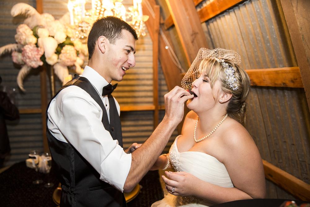 Cutting the cake, Walnut Tree Weddings, Cute, Romantic, Warm