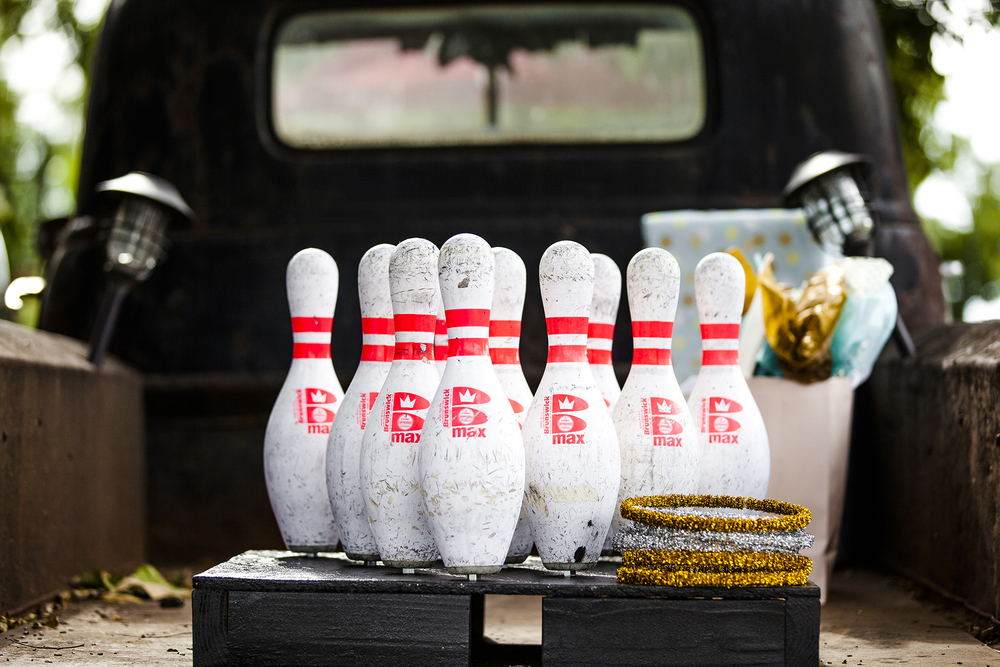Bowling Pins, Bowling, Walnut Tree Weddings, Details, Ring Toss, Wedding Games