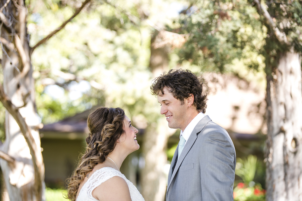 Lubbock Wedding Photography Wedding Photographer Walnut Tree First Look