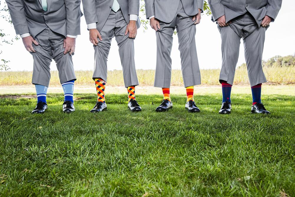 Lubbock Wedding Photography Wedding Photographer Walnut Tree Bride and Groom Portraits Socks