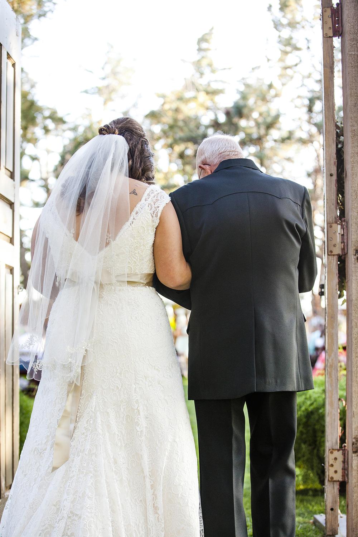 Lubbock Wedding Photography Wedding Photographer Walnut Tree Bride and Father