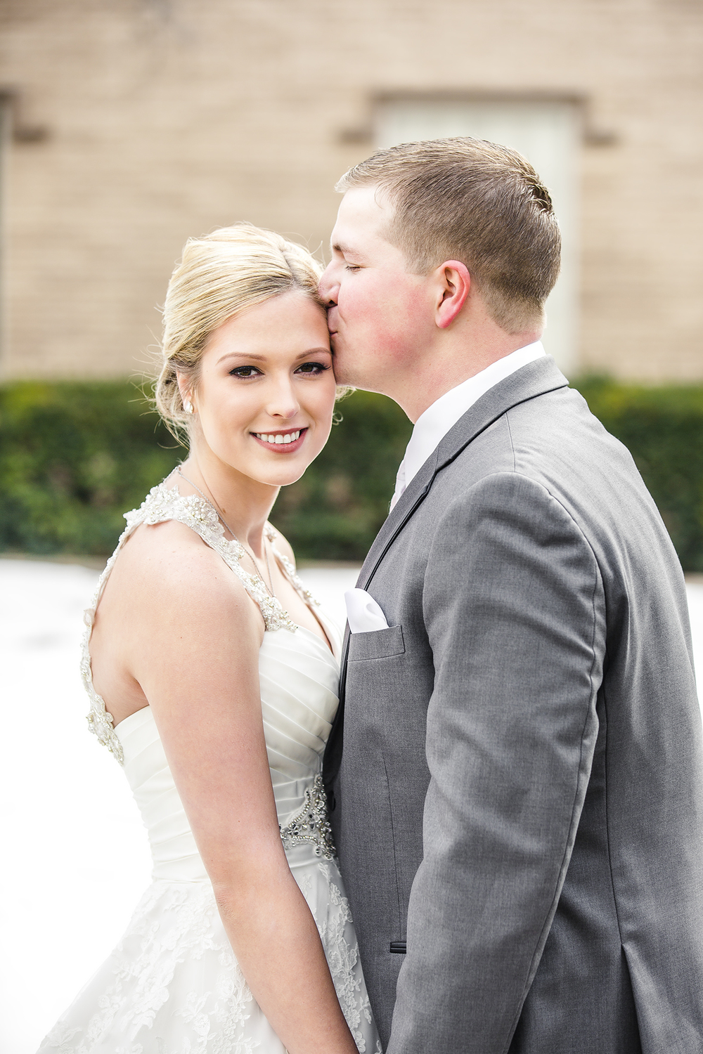 bride and groom portraits, natural light, romantic, sweet, first look