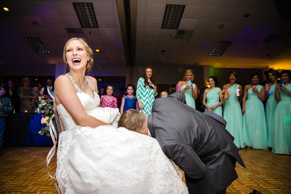 garter toss, sexy, exciting, crazy, wedding reception