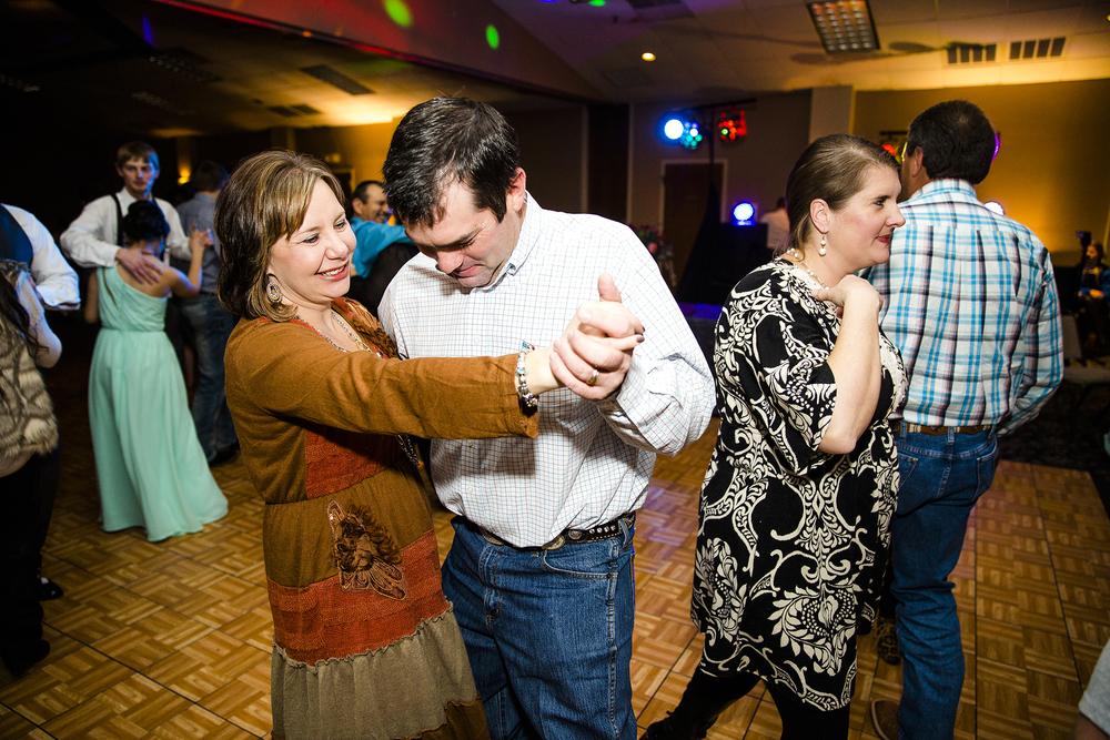 wedding reception, dancing, guests, dramatic, up lighting