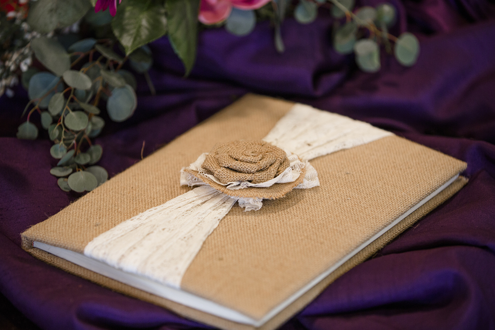 wedding guest book, sign in, southern elegance design