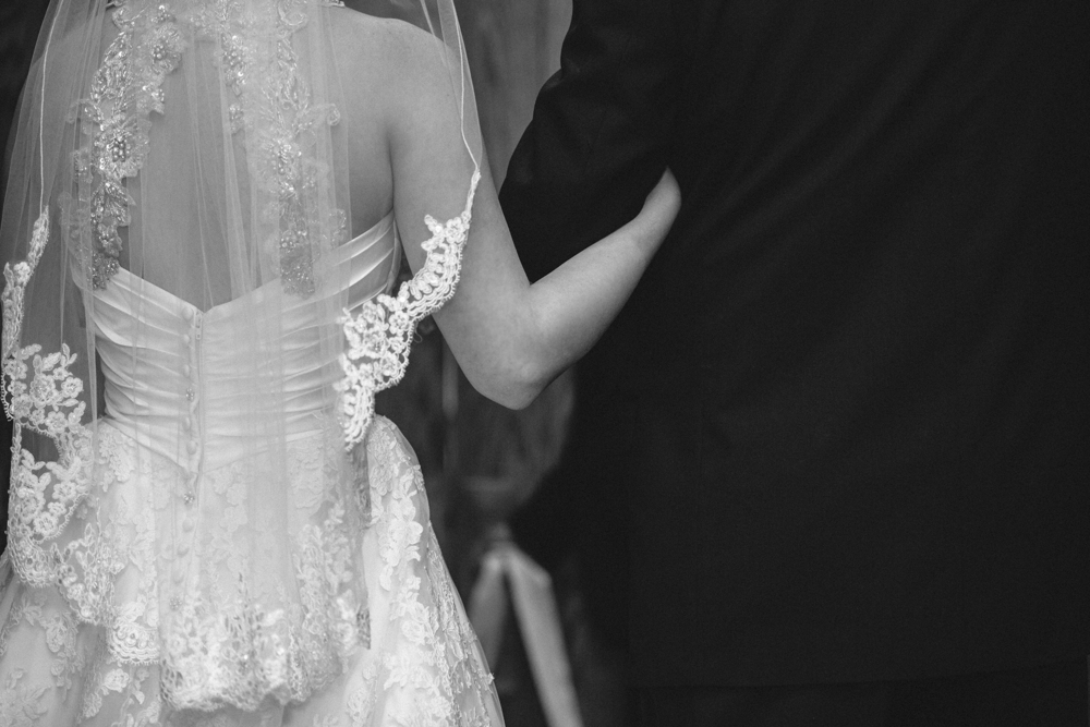 father and daughter, wedding ceremony, father of the bride