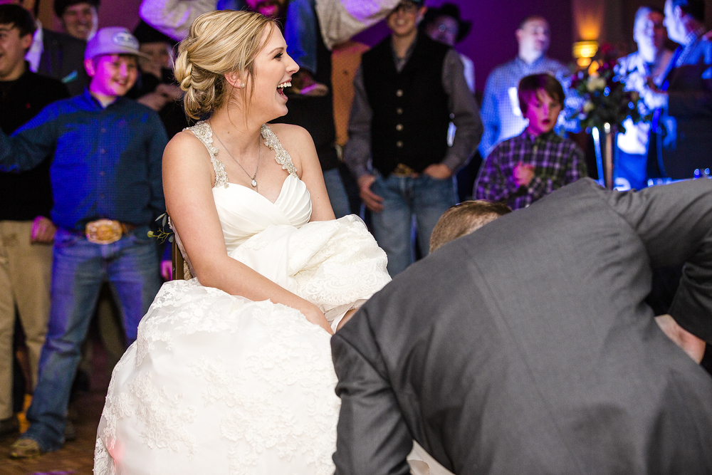garter toss, bride and groom, shock, exciting, sexy, sweet, romantic