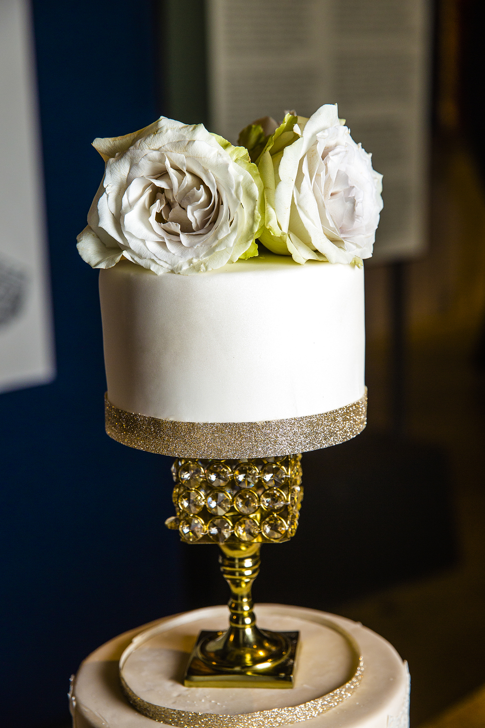 wedding cake details, elegant, wedding reception, made by the mother of the bride