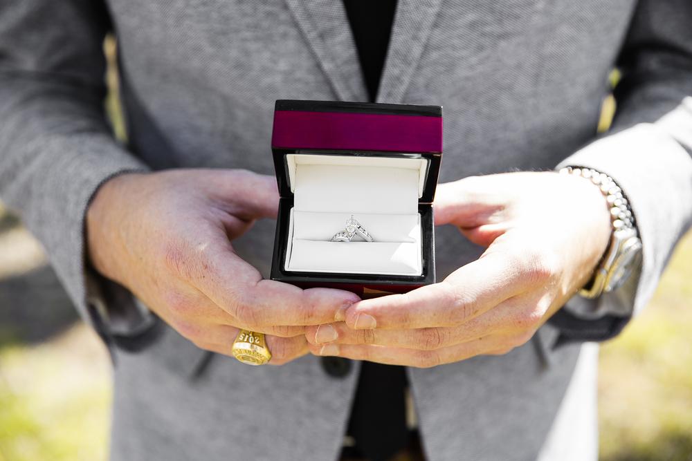 lubbock texas, engagement, wedding ring, rolex, lubbock christian university