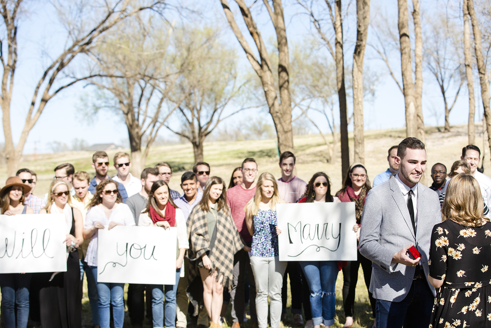 will you marry me, surprise proposal, lubbock texas, sweet, romantic